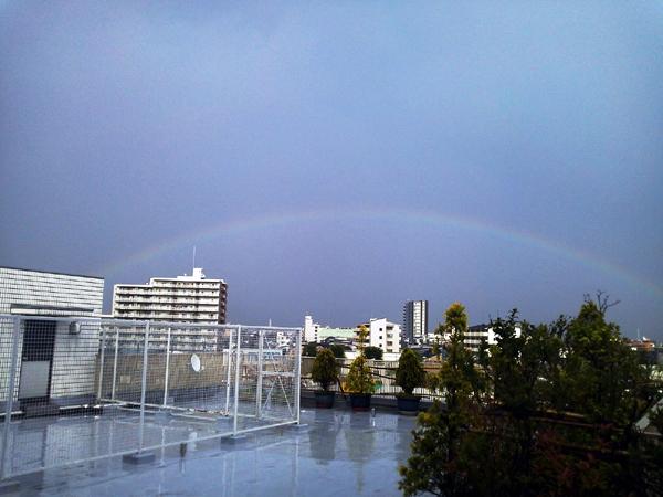 雷雨後の虹_小